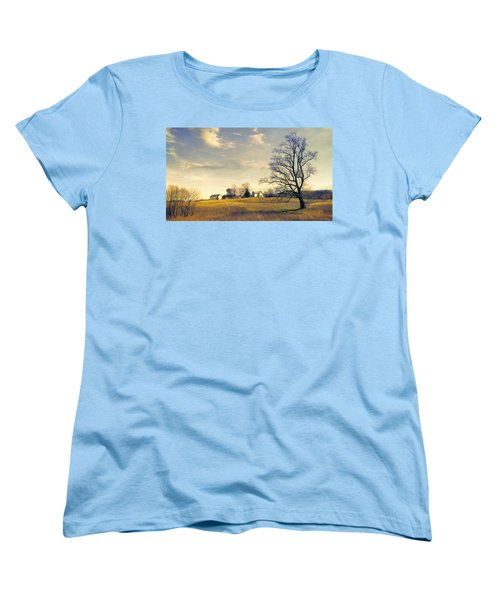 When I Come Back Women's T-Shirt (Standard Cut) by John Rivera