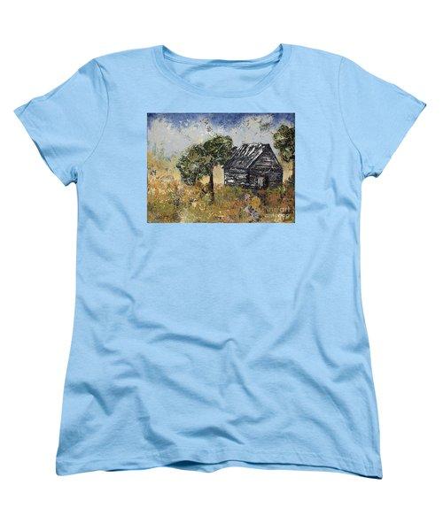 When September Ends Women's T-Shirt (Standard Cut) by Kirsten Reed