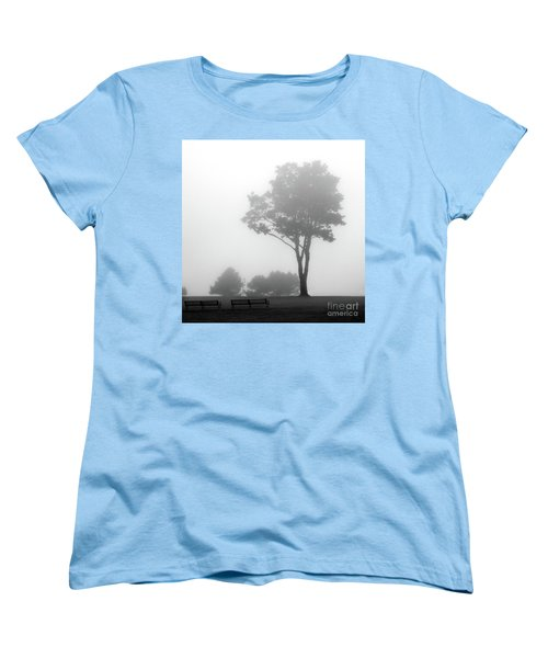 Women's T-Shirt (Standard Cut) featuring the photograph Where Do I Go When It's Gone by Dana DiPasquale