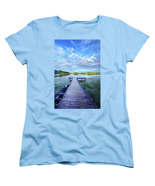 Where Dreams Are Dreamt Women's T-Shirt (Standard Cut) by Phil Koch