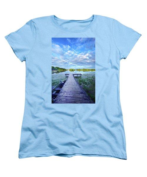 Where Dreams Are Dreamt Women's T-Shirt (Standard Cut) by Phil Koch