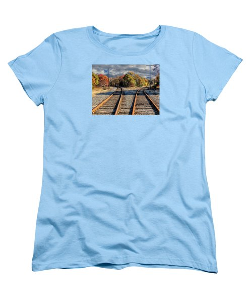 Which Way Women's T-Shirt (Standard Cut) by Constantine Gregory