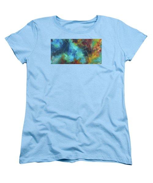 Whispering Winds Women's T-Shirt (Standard Cut) by Karen Kennedy Chatham