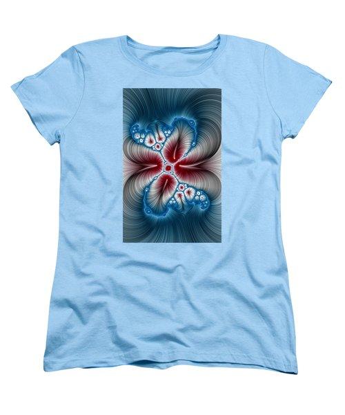Whispers Phone Case Women's T-Shirt (Standard Cut) by Lea Wiggins