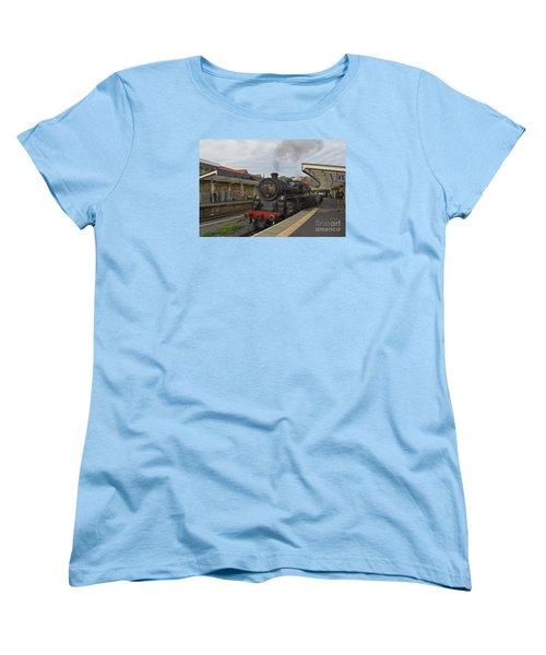 Whitby Station Women's T-Shirt (Standard Cut) by David  Hollingworth