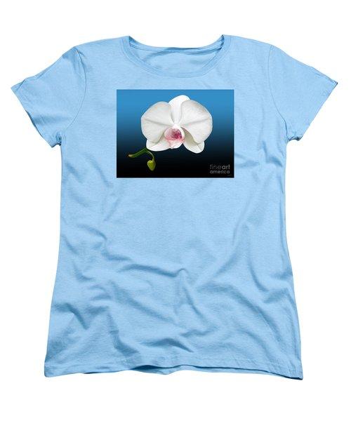 White Orchid Women's T-Shirt (Standard Cut)