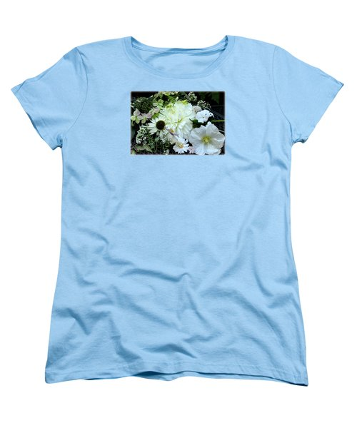 Women's T-Shirt (Standard Cut) featuring the photograph Whites And Pastels by Tanya Searcy