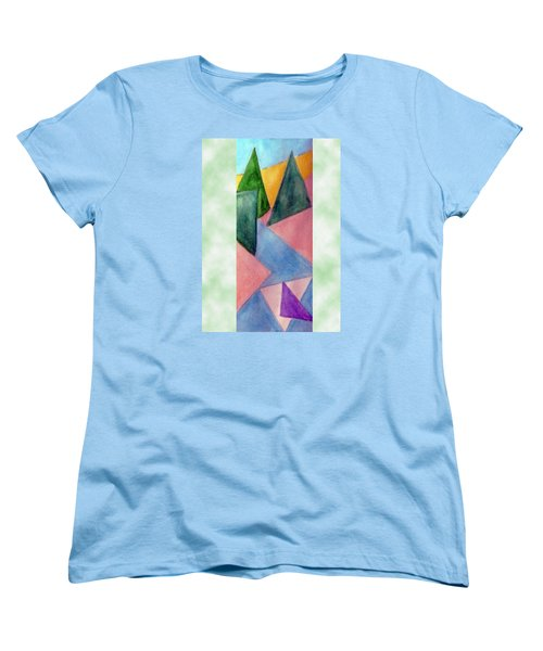 Whitewater Raft Women's T-Shirt (Standard Cut) by Loretta Nash