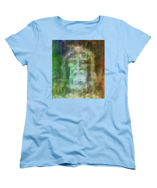 Who Do Men Say That I Am - The Shroud Women's T-Shirt (Standard Cut) by Glenn McCarthy Art and Photography
