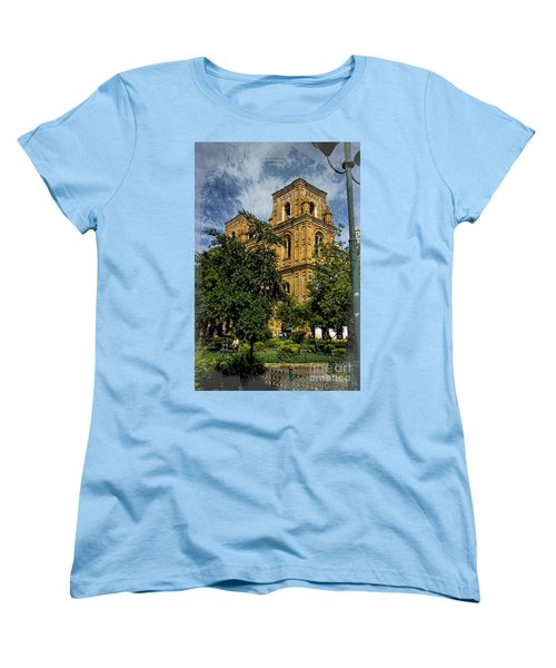 Women's T-Shirt (Standard Cut) featuring the photograph Why Do I Live Here? II by Al Bourassa