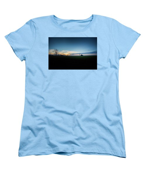 Women's T-Shirt (Standard Cut) featuring the photograph Wide Open Spaces by Shane Holsclaw