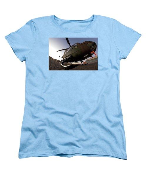 Women's T-Shirt (Standard Cut) featuring the photograph Wide by Paul Job