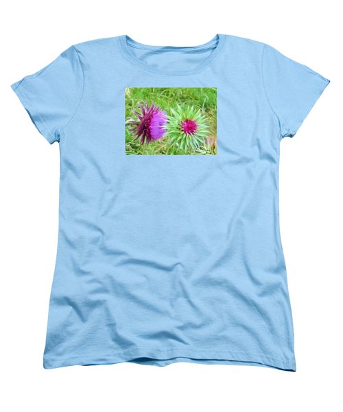 Wild Beauty In The Meadow Women's T-Shirt (Standard Cut) by Jeanette Oberholtzer