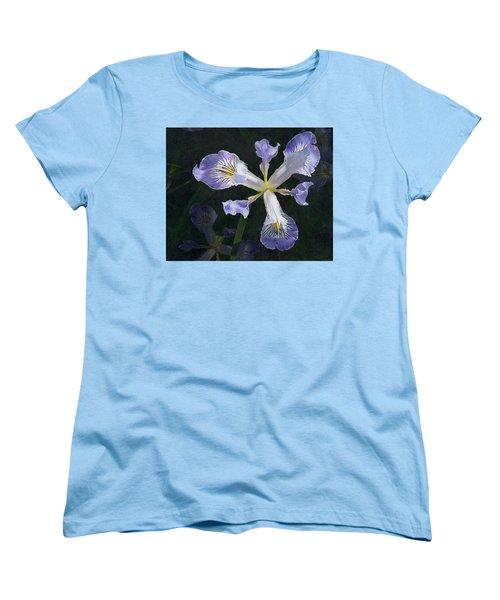Wild Iris 2 Women's T-Shirt (Standard Cut) by I'ina Van Lawick
