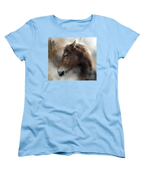 Wild Pony Women's T-Shirt (Standard Cut) by Kathy Russell
