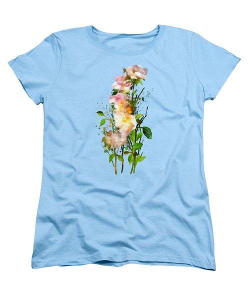Wild Roses Women's T-Shirt (Standard Cut) by Ivana Westin