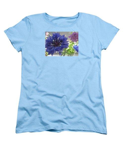 Wildflower Fluff Women's T-Shirt (Standard Cut) by Barbara McDevitt