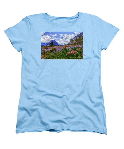 Wildflower Profusion Women's T-Shirt (Standard Cut) by Albert Seger