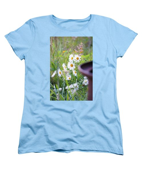 Wildflowers Women's T-Shirt (Standard Cut) by Angi Parks