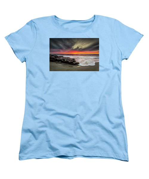 Women's T-Shirt (Standard Cut) featuring the photograph Will Of The Wind by Peter Tellone