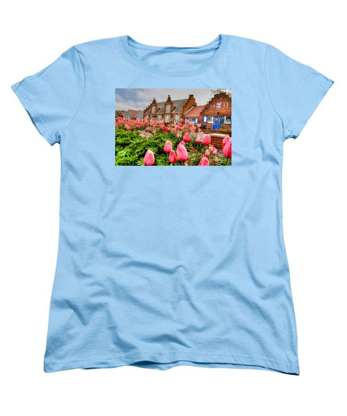 Women's T-Shirt (Standard Cut) featuring the photograph Windmill Villa by Robert Pearson