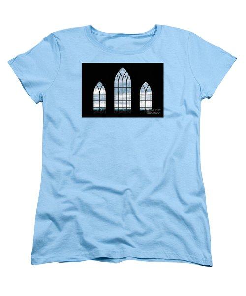 Women's T-Shirt (Standard Cut) featuring the photograph Window To God's Country by Brad Allen Fine Art