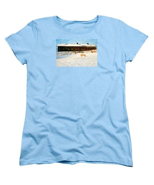 Winnie At Heartland Farm Sanctuary Women's T-Shirt (Standard Cut)