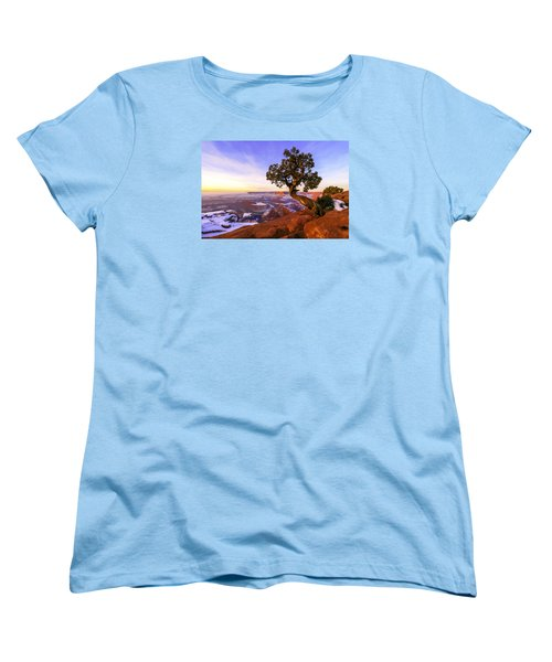 Winter At Dead Horse Women's T-Shirt (Standard Cut) by Chad Dutson