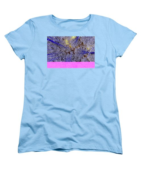 Women's T-Shirt (Standard Cut) featuring the photograph Winter Blues by Tony Beck