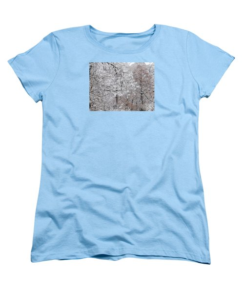 Winter Fantasy Women's T-Shirt (Standard Cut) by Craig Walters