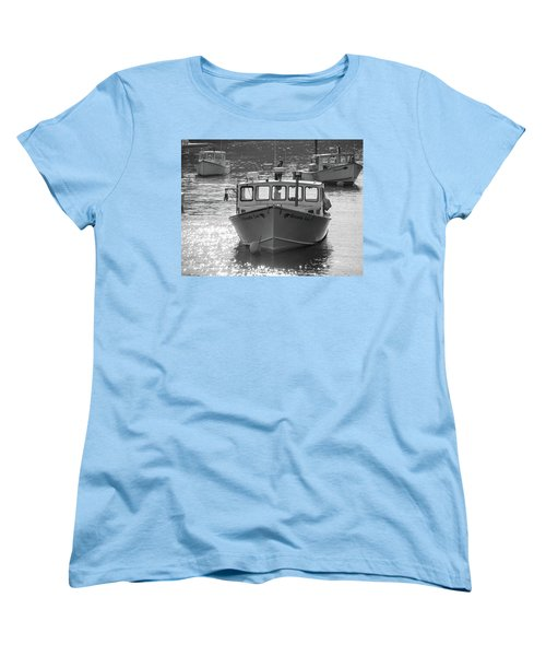Winter Harbor, Maine  Women's T-Shirt (Standard Cut) by Trace Kittrell