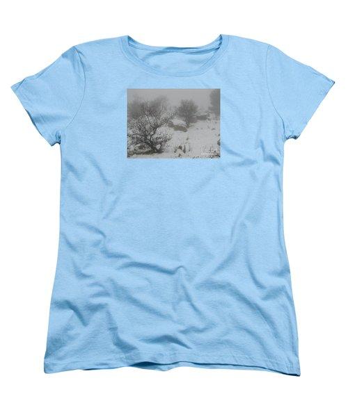 Winter In Israel Women's T-Shirt (Standard Cut) by Annemeet Hasidi- van der Leij