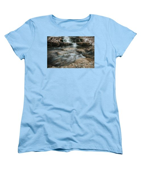Winter Inthe Falls Women's T-Shirt (Standard Cut) by Iris Greenwell