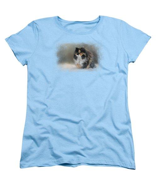 Winter Journey Women's T-Shirt (Standard Cut)