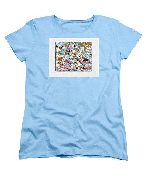 Winter Joy Women's T-Shirt (Standard Cut) by Donna Blackhall