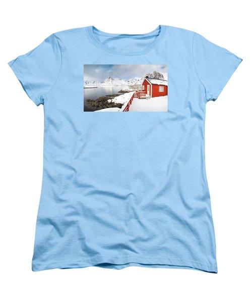 Winter Morning Women's T-Shirt (Standard Cut)
