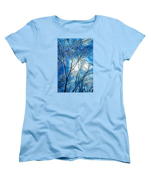 Women's T-Shirt (Standard Cut) featuring the photograph Winter Solstice by Michael Nowotny