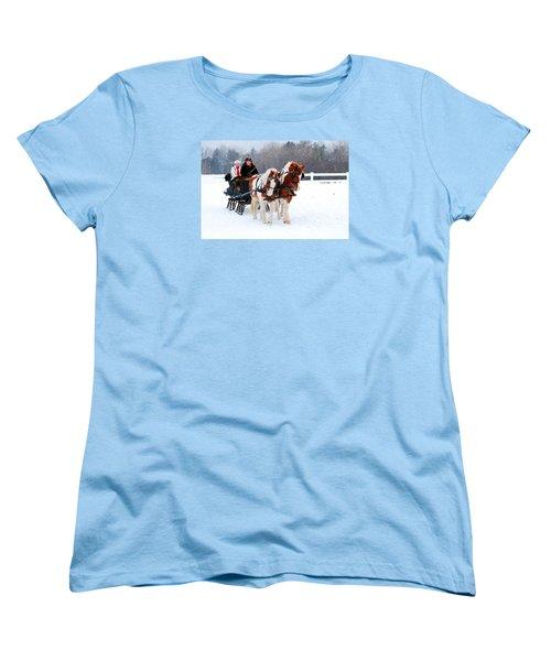 Winter Wonderland Women's T-Shirt (Standard Cut)