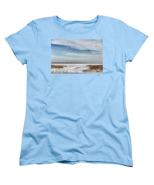 Winter Wonderland Women's T-Shirt (Standard Cut) by Tamera James