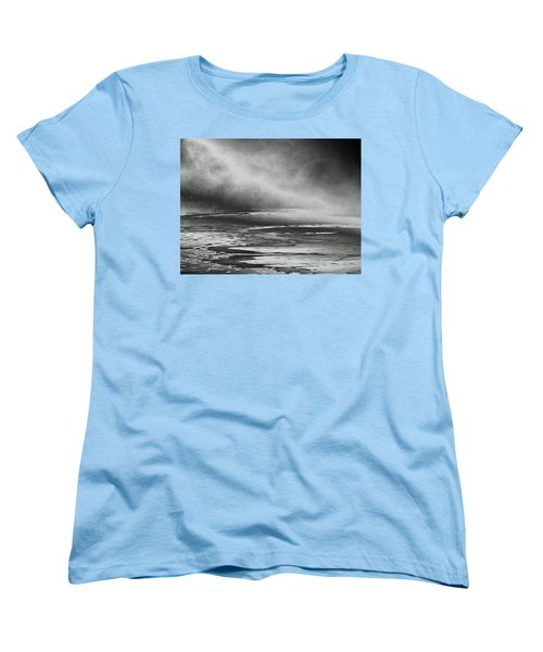 Women's T-Shirt (Standard Cut) featuring the photograph Winter's Song by Steven Huszar