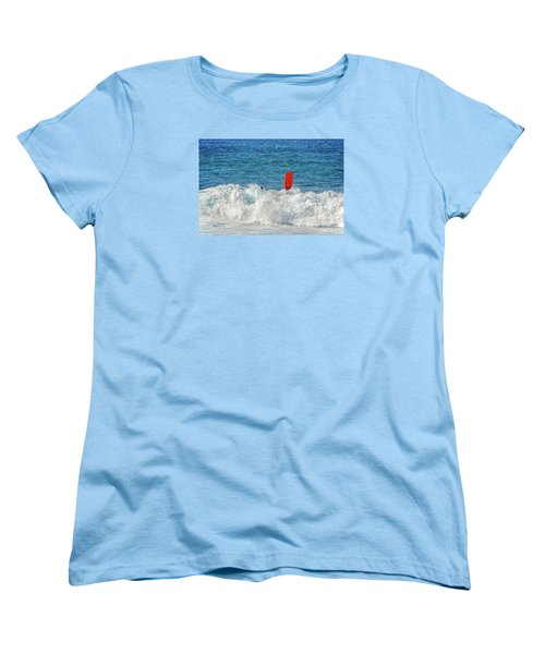Women's T-Shirt (Standard Cut) featuring the photograph Wipe Out by David Lawson