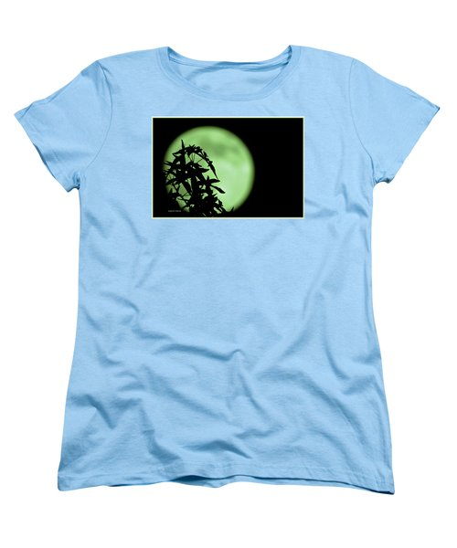 Women's T-Shirt (Standard Cut) featuring the photograph Witching Hour by DigiArt Diaries by Vicky B Fuller