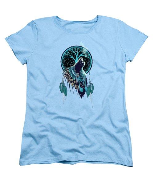 Wolf Indian Shaman Women's T-Shirt (Standard Fit)
