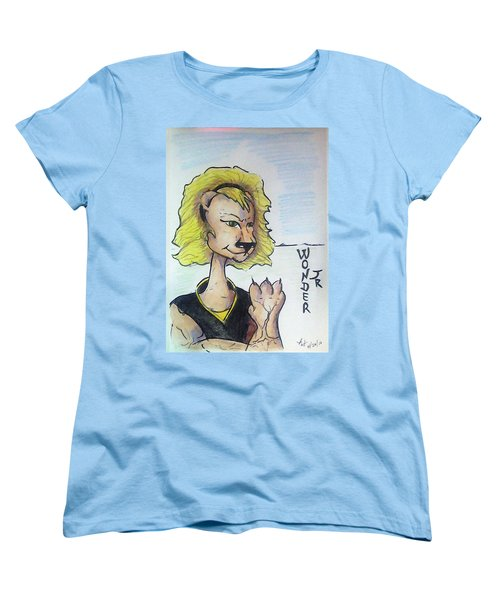 Wonder Jr Women's T-Shirt (Standard Cut) by Loretta Nash