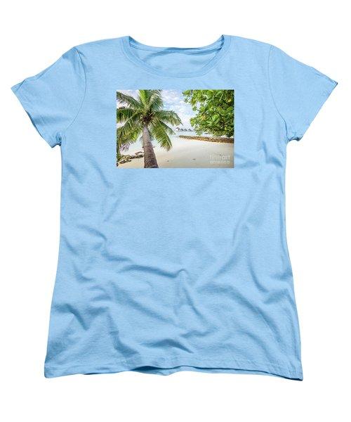 Women's T-Shirt (Standard Cut) featuring the photograph Wonderful View by Hannes Cmarits