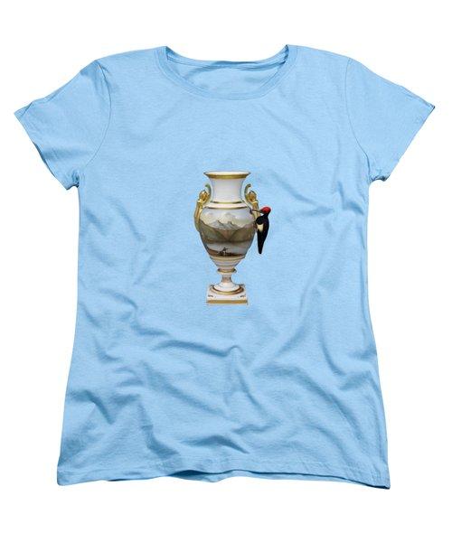 Wood Pecker's Dream Women's T-Shirt (Standard Cut) by Keshava Shukla