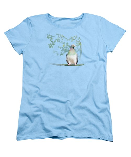 Wood Pigeon Women's T-Shirt (Standard Cut) by Ivana Westin