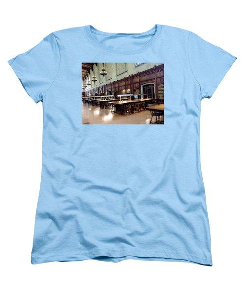 Woodwork Women's T-Shirt (Standard Cut) by Joseph Yarbrough