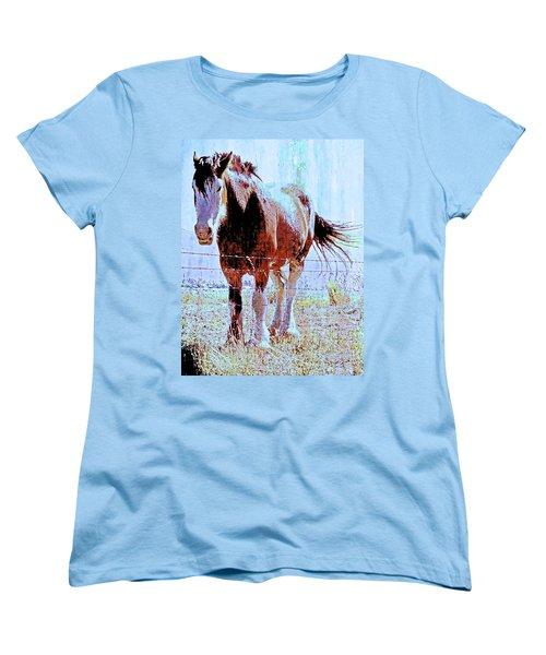 Workhorse Women's T-Shirt (Standard Cut) by Cynthia Powell