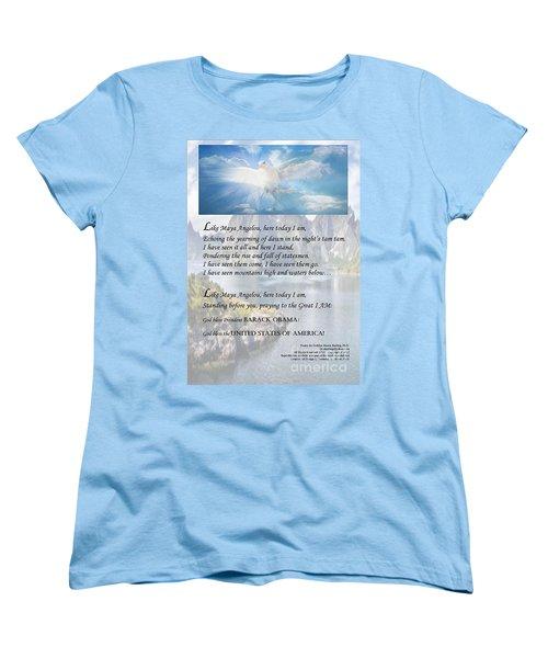 Writer, Artist, Phd. Women's T-Shirt (Standard Cut) by Dothlyn Morris Sterling